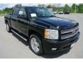 2013 Black Chevrolet Silverado 1500 LTZ Crew Cab 4x4  photo #2