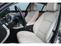 Oyster/Black 2011 BMW 5 Series Interiors
