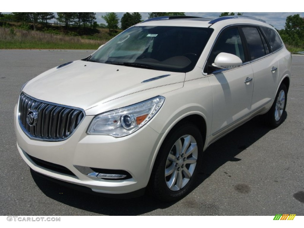 2013 White Diamond Tricoat Buick Enclave Premium Awd 80723410 Car Color Galleries