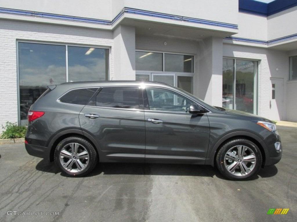 Hampton Green Pearl 2013 Hyundai Santa Fe Limited Awd Exterior Photo 80773450 Gtcarlot Com