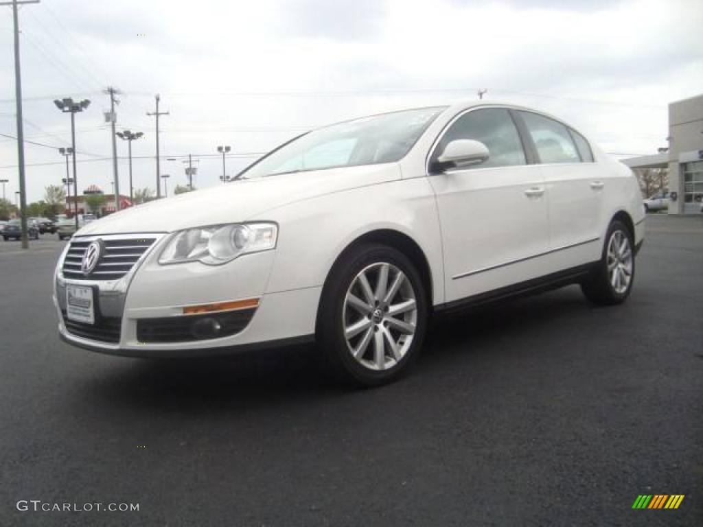 2006 candy white volkswagen passat 3 6 sedan 8068558 car color galleries. Black Bedroom Furniture Sets. Home Design Ideas