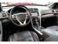 2012 Ford Explorer Charcoal Black Interior Prime Interior Photo
