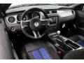 2014 Ford Mustang Shelby Charcoal Black/Blue Accents Interior Prime Interior Photo