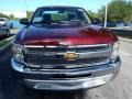 2013 Deep Ruby Metallic Chevrolet Silverado 1500 LS Regular Cab  photo #2