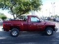 2013 Deep Ruby Metallic Chevrolet Silverado 1500 LS Regular Cab  photo #8