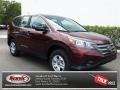 2013 Basque Red Pearl II Honda CR-V LX  photo #1