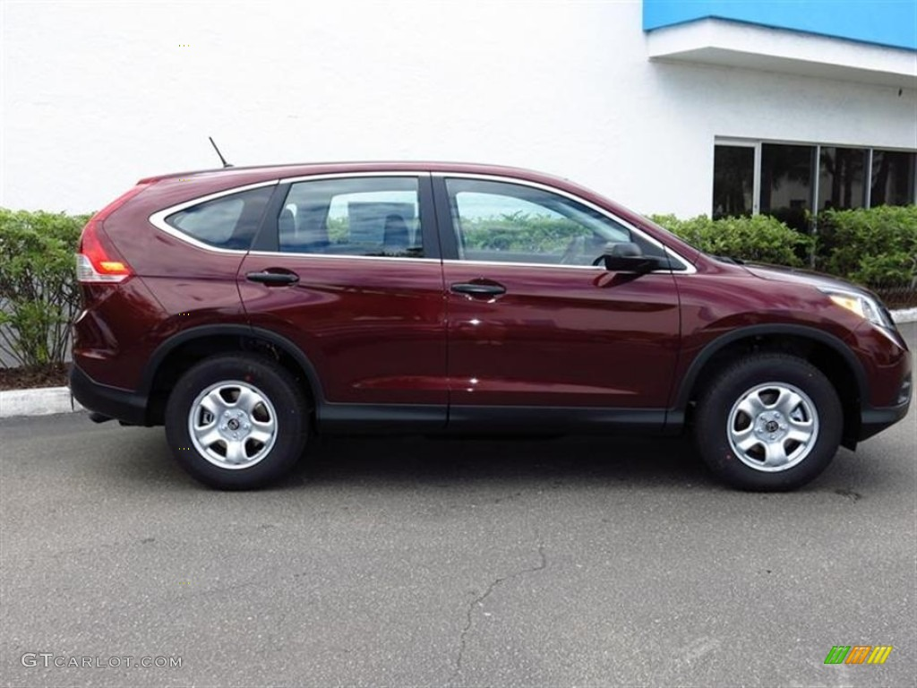 Basque Red Pearl Ii 2013 Honda Cr V Lx Exterior Photo 80790304