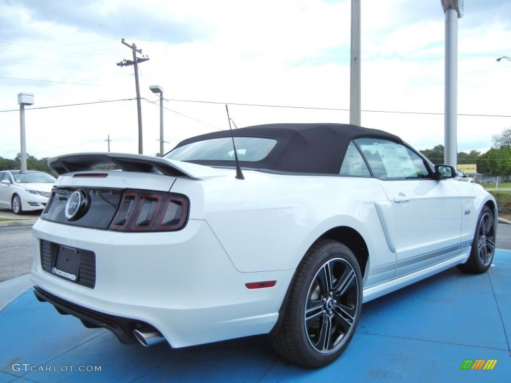 2014 oxford white ford mustang gt cs california special convertible 80785126 photo 3. Black Bedroom Furniture Sets. Home Design Ideas