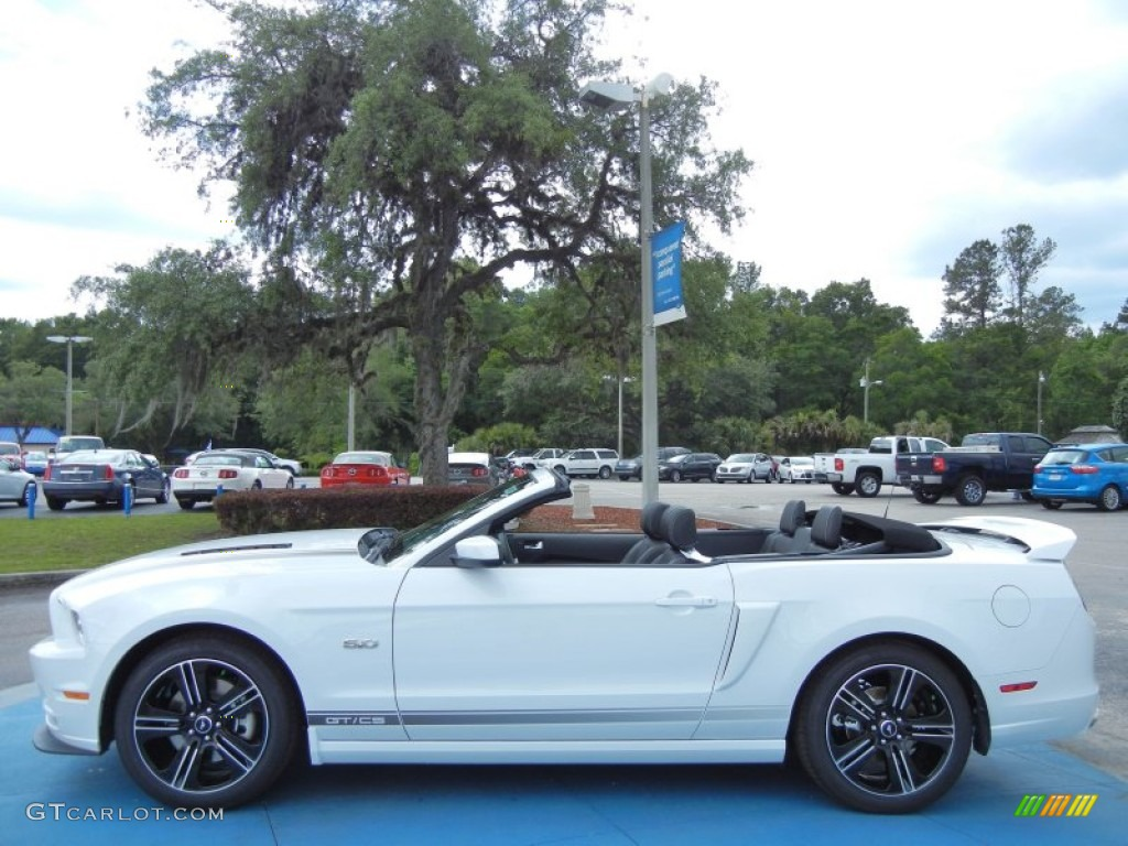 2014 oxford white ford mustang gt cs california special. Black Bedroom Furniture Sets. Home Design Ideas