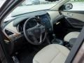 Beige Prime Interior Photo for 2013 Hyundai Santa Fe #80795431