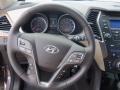Beige Steering Wheel Photo for 2013 Hyundai Santa Fe #80795551