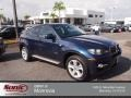 Monaco Blue Metallic 2011 BMW X6 xDrive35i