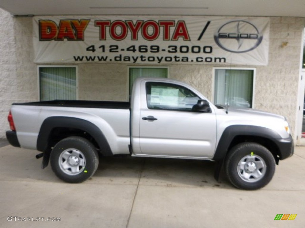 2013 silver streak mica toyota tacoma regular cab 4x4 80784993 car color galleries. Black Bedroom Furniture Sets. Home Design Ideas