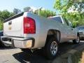 2012 Silver Ice Metallic Chevrolet Silverado 1500 LS Extended Cab  photo #3