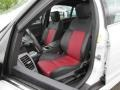 Onyx/Red Front Seat Photo for 2009 Pontiac G8 #80803959