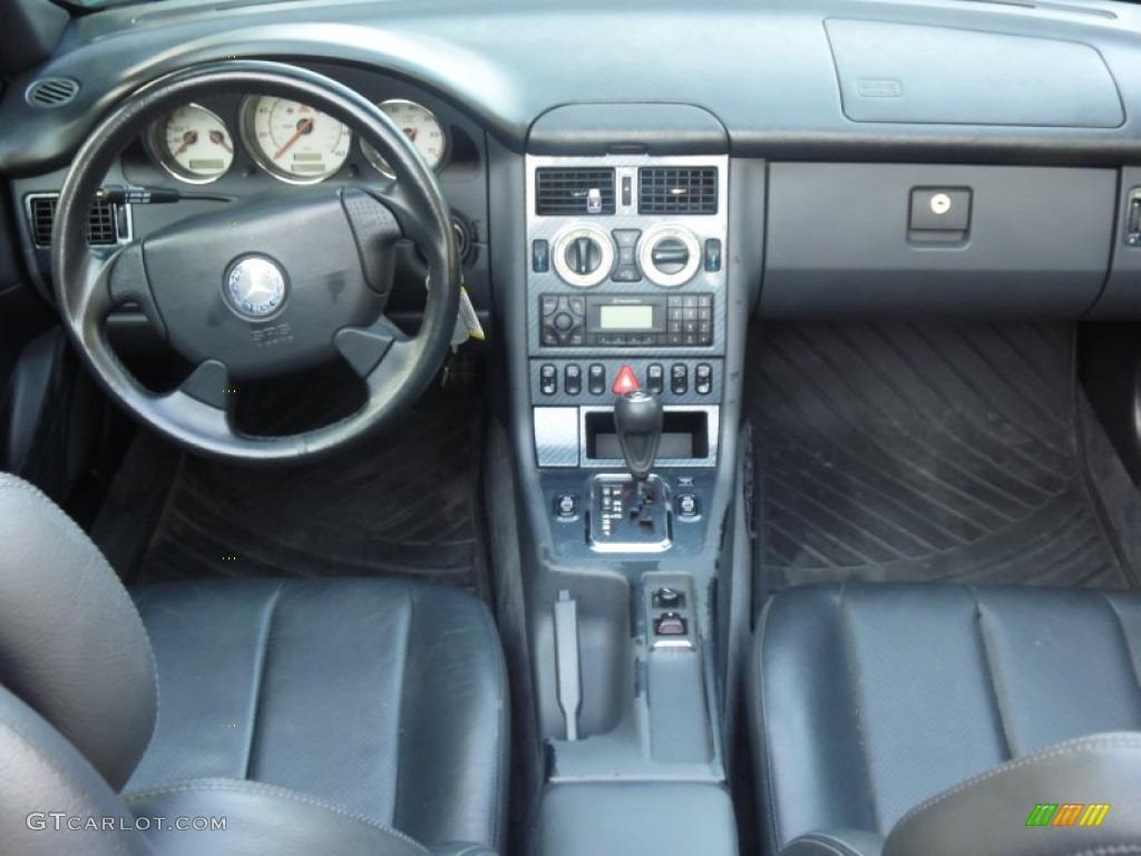 2000 mercedes benz slk 230 kompressor roadster dashboard for Mercedes benz dashboard