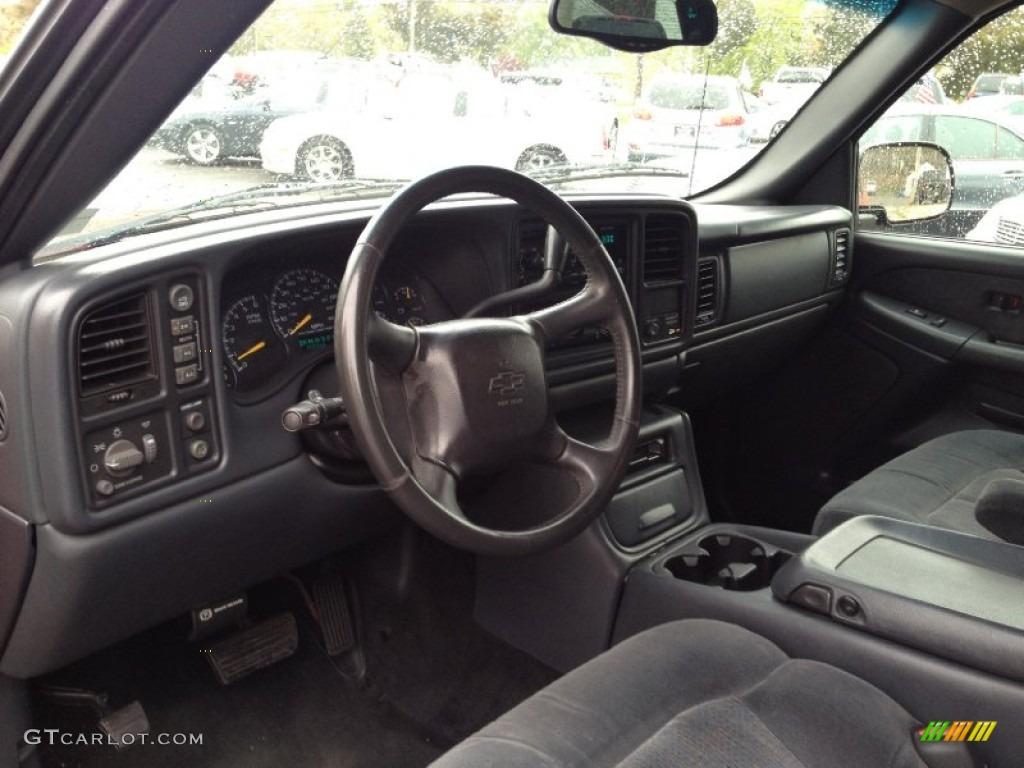 2001 Chevrolet Silverado 2500HD LS Extended Cab 4x4 Dashboard Photos | GTCarLot.com