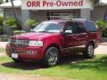 2007 Vivid Red Metallic Lincoln Navigator Ultimate #80785632