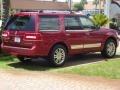 2007 Vivid Red Metallic Lincoln Navigator Ultimate  photo #2