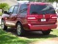 2007 Vivid Red Metallic Lincoln Navigator Ultimate  photo #4