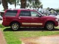 2007 Vivid Red Metallic Lincoln Navigator Ultimate  photo #7