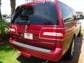2007 Vivid Red Metallic Lincoln Navigator Ultimate  photo #8