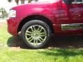 2007 Vivid Red Metallic Lincoln Navigator Ultimate  photo #10