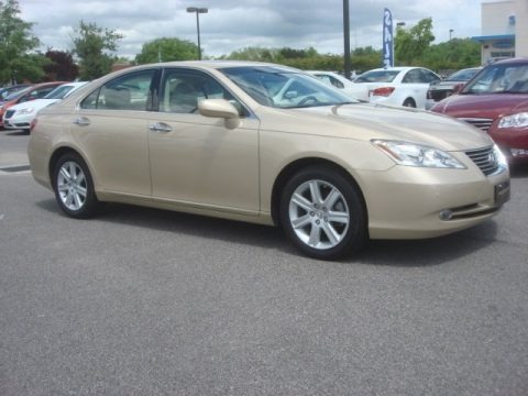 2008 lexus es 350 specifications