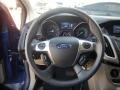 2012 Sonic Blue Metallic Ford Focus SE 5-Door  photo #20