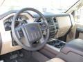 2012 Pale Adobe Metallic Ford F250 Super Duty XLT Crew Cab 4x4  photo #4