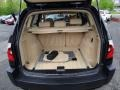 2005 BMW X3 Sand Beige Interior Trunk Photo