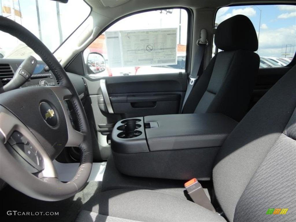 2013 Silverado 1500 LT Crew Cab 4x4 - Silver Ice Metallic / Ebony photo #10