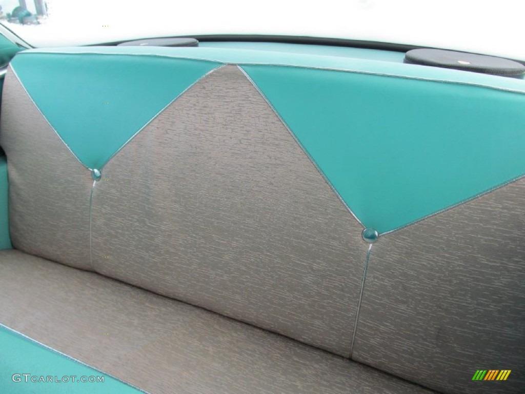 Marvelous Light Turquoise Interior 1956 Chevrolet Bel Air 2 Door Beutiful Home Inspiration Semekurdistantinfo