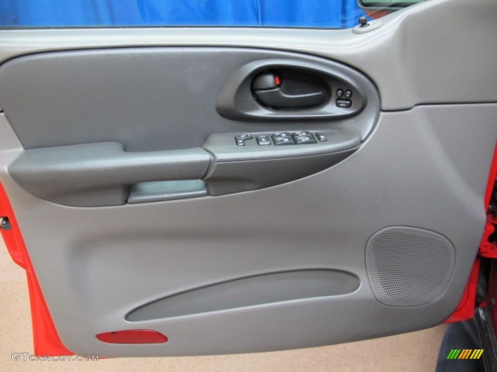2002 Chevrolet Trailblazer Ltz 4x4 Dark Pewter Door Panel Photo 80843006