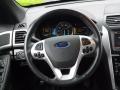 2011 Ford Explorer Pecan/Charcoal Interior Steering Wheel Photo
