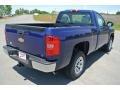 2013 Blue Topaz Metallic Chevrolet Silverado 1500 Work Truck Regular Cab  photo #4