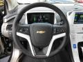 Jet Black/Ceramic White Accents Steering Wheel Photo for 2013 Chevrolet Volt #80852608