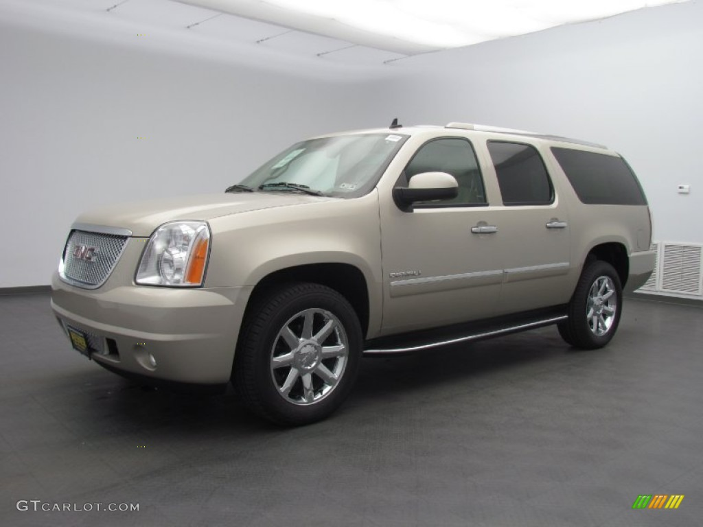 2013 champagne silver metallic gmc yukon xl denali awd 80838511 car color. Black Bedroom Furniture Sets. Home Design Ideas