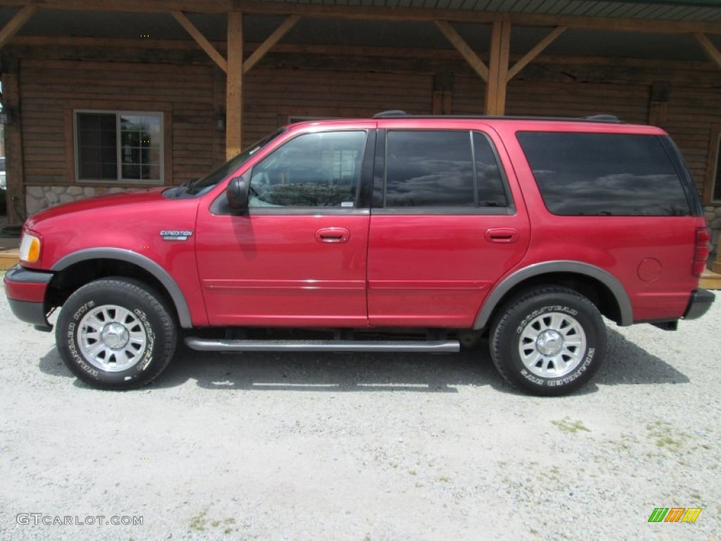 Laser red ford expedition