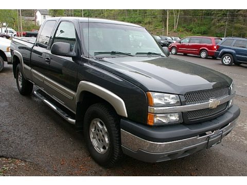 2003 chevrolet silverado 1500 z71 extended cab 4x4 data. Black Bedroom Furniture Sets. Home Design Ideas