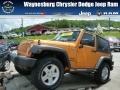 2012 Dozer Yellow Jeep Wrangler Sport 4x4 #80838063