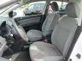 2010 Nissan Sentra Charcoal Interior Front Seat Photo