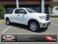 2013 Super White Toyota Tundra Double Cab  photo #1