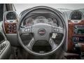 2005 GMC Envoy Light Gray Interior Steering Wheel Photo
