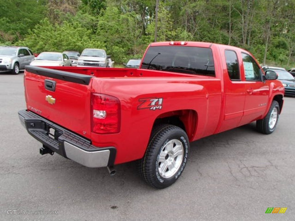 2013 Silverado 1500 LT Extended Cab 4x4 - Victory Red / Ebony photo #8