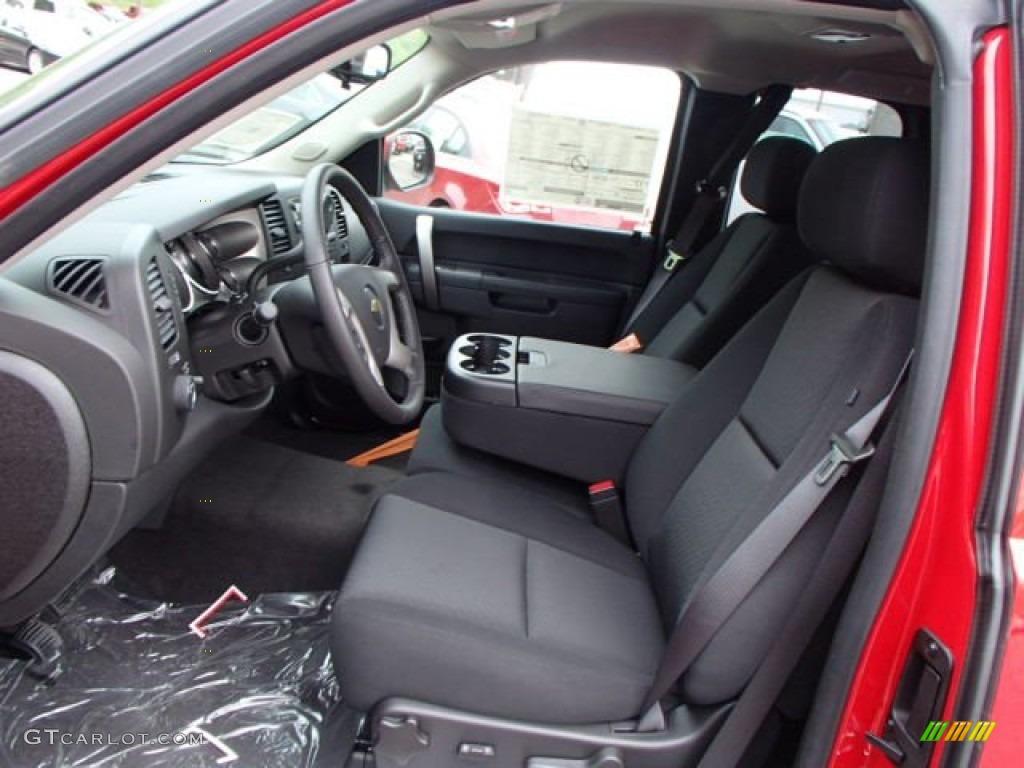 2013 Silverado 1500 LT Extended Cab 4x4 - Victory Red / Ebony photo #11