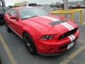 2011 Race Red Ford Mustang Shelby GT500 SVT Performance Package Coupe  photo #1