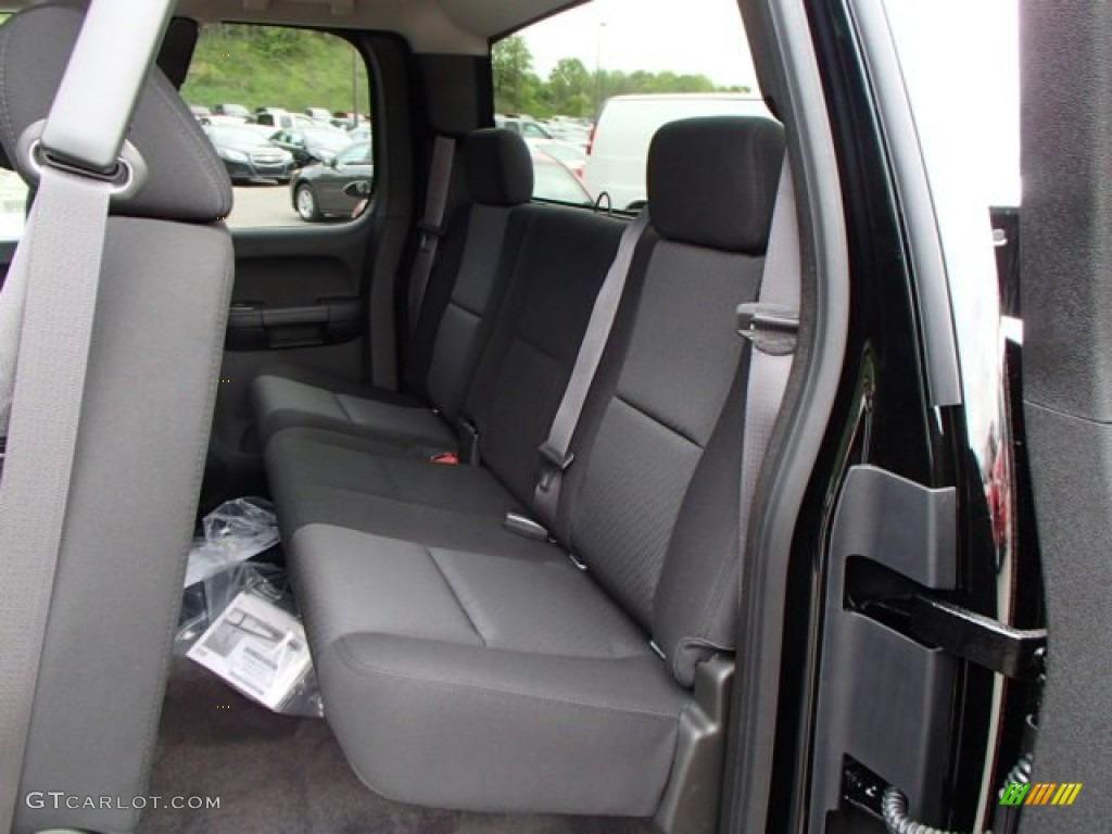 2013 Silverado 1500 LT Extended Cab 4x4 - Black / Ebony photo #13