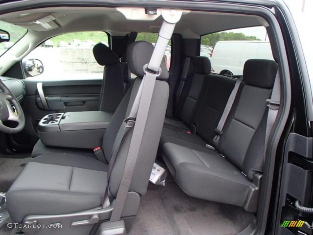 2013 Silverado 1500 LT Extended Cab 4x4 - Black / Ebony photo #14