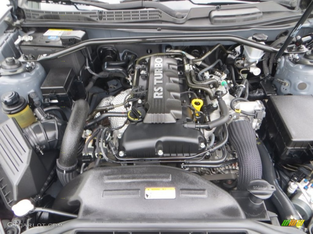 2011 Hyundai Genesis Coupe 2.0T Engine Photos
